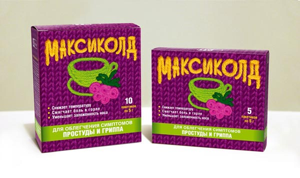 Упаковка, бренд: Максиколд