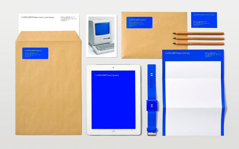 """Фирменный стиль """"Syssoft"""", бренд: Syssoft, агентство: Tomatdesign"""
