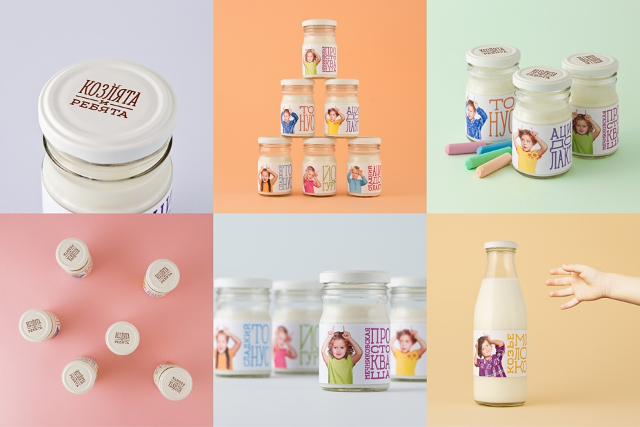 Упаковка, бренд: Козлята и ребята, агентство: Science