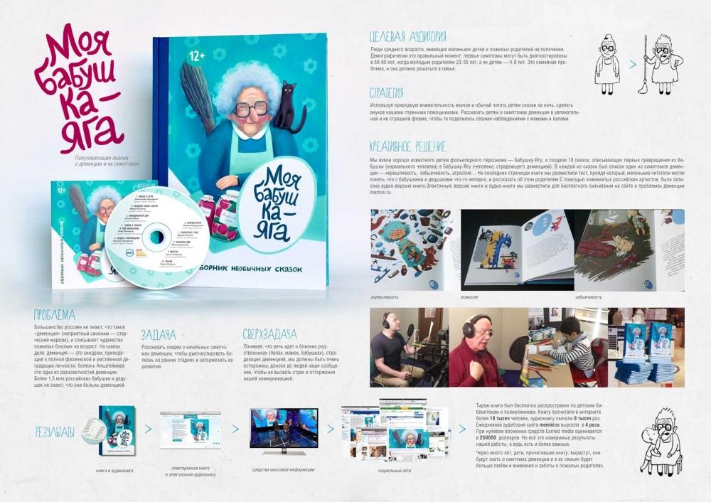 """Печатная реклама """"Моя Бабушка-Яга"""", рекламодатель: Memini.ru, агентство: AnyBodyHome!"""